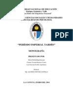 Monografia de Tahuantinsuyo