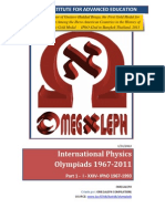 International Physics Olympiads