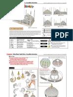 Sultan Ahmet Camii - Paper 3D Model PDF (2)
