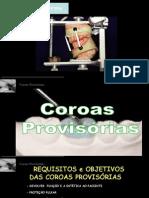 COROAS PROVISÓRIAS  UFMS