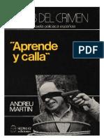 Martín, Andreu - Aprende y calla (1979).doc