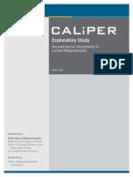 Caliper Exploratory Lumen-uncertainty