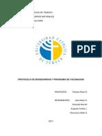 Protocolo de Bioseguridad Salmonicultura