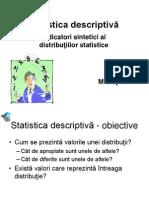 Statistica descriptiva M. Popa