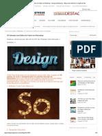 70 Tutoriais com Efeitos de Textos no Photoshop – Site para Empresas – Blog sobre Internet e Criação de Site 2