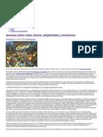 Apuntes Sobre Clase Obrera, Subjetividad y Conciencia