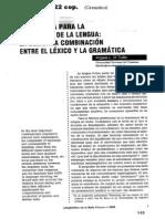 05067004 DI TULLIO - Una receta para la enseñanza de la lengua