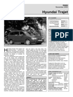 Hyundai Trajet Nov00 Firstdrive