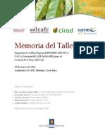Memoria.taller Plan Regional y Nacional de Roya Cr. Vf Copy