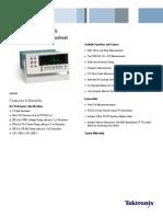 Tektronix DMM4020 Digital Multimeter Datasheet 6