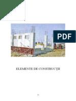 Curs Elemente de Constructii