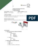 temario-ELABORACIÓN DE PAGINA WEB EN GOOGLE SITES dirigido a Docentes del nivel medio superior