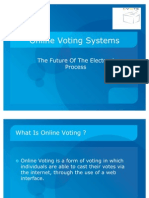 Presentation of Voting System