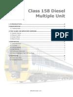 Class158 Diesel Multiple Unit