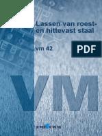 VM42-Lassen Roest-En Hittevast Staal