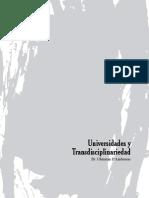 D'Ambrosio - Universidades y Transdisciplinariedad
