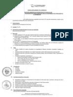 Convocatoria CAS 112-2013