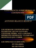 Muros de Contención - Blanco Blasco