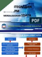 pengintegrasian data kpm 21 jan 2013