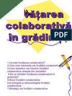Invatarea Colaborativa in Gradinita