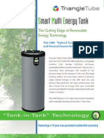 Triangle Tube SME Hybrid Solar/Geothermal DHW Storage Tanks Brochure