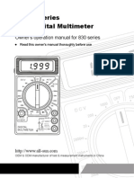 Digital Multimeter DT830 Series Manual