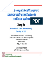 An Efficient Computational Framework for Uncertainty Quantification in Multiscale Systems