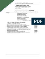 Varianta 16 BAC Limba Romana Subiectul I 2009