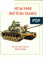 Osprey - Vanguard 029] - M47 & M48 Patton Tanks