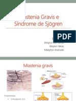 Miastenia gravis e Síndrome de Sjögren