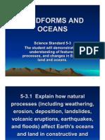 landforms  oceans lessons ppt 1
