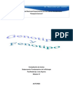 Genotipo y Fenotipo 2