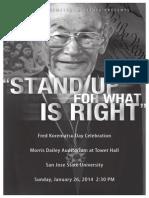 Fred Korematsu Day 2014 San Jose Program Book