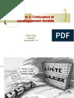 thème 3 croissance dévpt durable  2009-2010