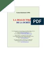 Bachelard, Gaston - La Dialectique de la durée