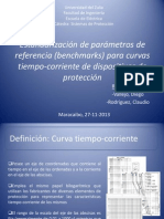 Estandarización de parámetros de referencia (benchmarks) para curvas tiempo-corriente de dispositivos de protección