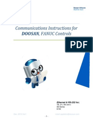 Comm Setup Doosan Fanuc | File Transfer Protocol | Network Interface