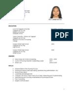 Jammie's Resume
