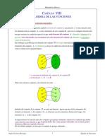 8 Álgebra de Funciones