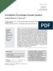 Neonatal Prolonged Jaundice