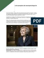 Memória é tema de pesquisa de neuropsicóloga de 94 anos