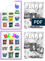 Subjects Bingo Bw