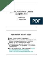 Lattices Diffraction.
