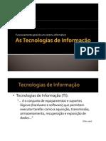 Tecnologias da informacao