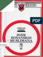 Dževad Jahić - Jezik bosanskih Muslimana