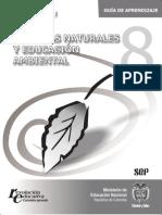 Ciencias Naturales y Educación Ambiental Guía de Aprendizaje 8º