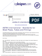 ASTM Stds List