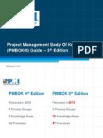 Pmbok 5th Edition (1)