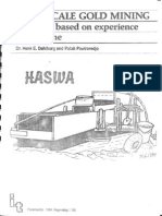 Small-scale Gold Mining a Manual Based on Experience in Suriname
