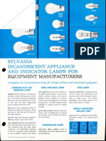 Sylvania Incandescent Appliance & Indicator Lamps Bulletin 1963